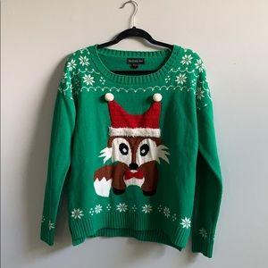 Sweaters - Blizzard bay fox Christmas sweater